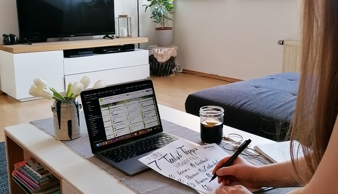 7 Tools & Tipps fürs Homeoffice – tested and approved by Anna!